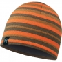 Шапка Buff Knitted & Polar Laki Stripes Fossil