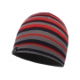 Шапка Buff Knitted & Polar Laki Stripes Grey Pewter