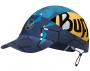 Кепка BUFF Run Cap Patterned R-Helix Ocean