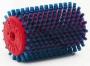 Щетка роторная Swix T0017W синий нейлон 100 мм