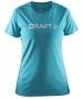 Футболка Craft Prime Run Logo женская