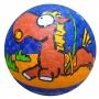 Мяч резиновый Larsen Лошадь 14 см