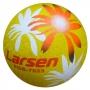 Мяч резиновый Larsen Тропики 17,5 см