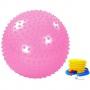 Мяч массажный Alonsa 65см с насосом