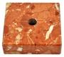 Постамент мраморный красный