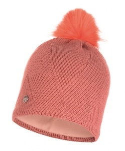 Шапка BUFF Knitted & Polar Hat Disa Peach
