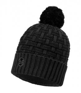Шапка BUFF Knitted & Polar Hat Airon Black