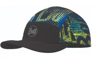Кепка BUFF Run Cap Patterned R-Effect Logo Multi
