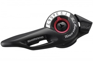 Шифтер Shimano Tourney TZ500 правый (6 ск., трос 2050 мм)