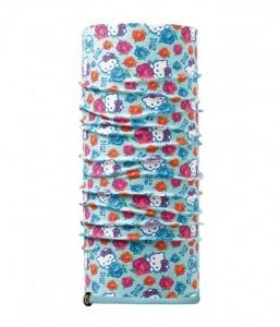 Бандана Buff Child Reversible Polar Hello Kitty Roses Turquoise (детская/подростковая)