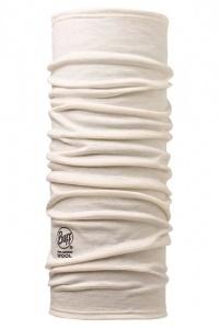 Бандана BUFF Merino Wool Solid Snow