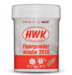 Порошок HWK Fluorpowder Middle Silber