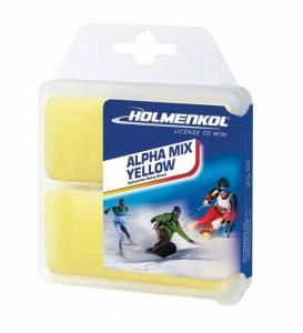 Парафин Holmenkol Alphamix Yellow 2*35g