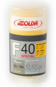 Парафин Solda F40 Special желтый