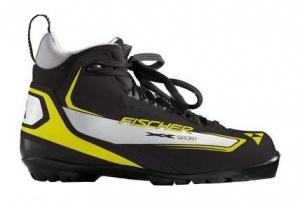 Ботинки лыжные Fischer XC Sport Yellow NNN для беговых лыж