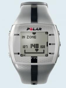 Пульсометр Polar FT4M Silver (монитор сердечного ритма)