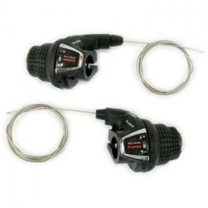 Шифтеры (комплект) Shimano Tourney SL-RS35