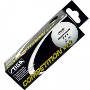 Мячи для настольного тенниса Stiga Competition (3 шт.)