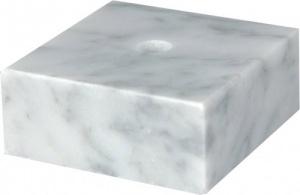 Постамент мраморный белый