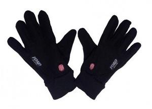 Перчатки беговые Yoko Softshell Black