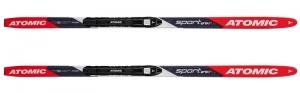 Беговые лыжи Atomic Dynamic Sport JR Grip +U/J детские (с креплениями)