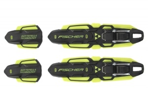 Крепления лыжные Fischer Performance Skate Black/Yellow NIS
