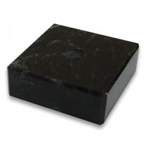 Постамент мраморный черный