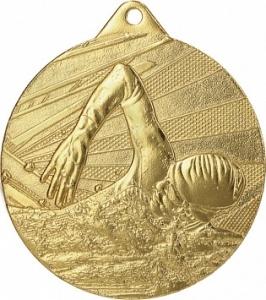 Медаль Плавание ME003