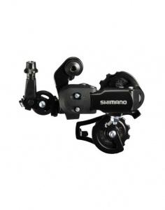 Переключатель задний Shimano Tourney FT35 (6/7 ск., крепление на ось, короткая лапка)